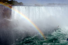 Falls of niagara 1. Nice Niagara falls rainbow view stock photos