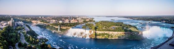 2 falls niagara Arkivbilder