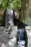 Falls in park in the Crimea Stock Photos