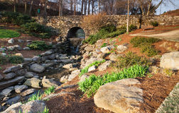Falls Park, Greenville South Carolina Royalty Free Stock Photography
