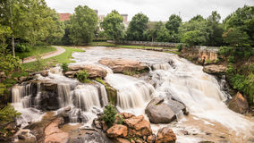 Falls Park HDR Royalty Free Stock Images