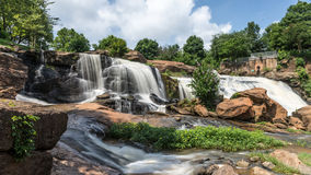Falls Park HDR Stock Image