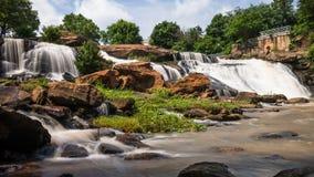 Falls Park HDR Royalty Free Stock Image