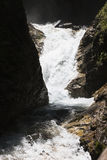 Falls in Raggaschlucht, Carinthia, Austria Royalty Free Stock Image