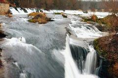 Falls on Rhine. Neuhausen, Switzerland Stock Photos