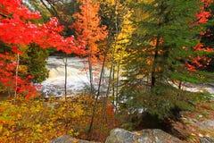 Falls River Lanse Michigan stock images