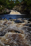 Falls of Shin in Scotland in United Kingdom 3 Royalty Free Stock Photos