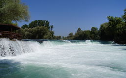 Manavgat Waterfall, Turkey Stock Images
