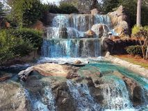 Falls. Snapped this photo at pirate putt put in gulf shores Royalty Free Stock Image