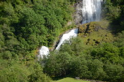 Falls of Sognefjord Stock Photography