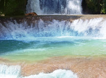 Falls in a sunny day Royalty Free Stock Image