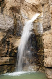 Falls in  vicinity of  Dead Sea. Falls in national park Ein Gedi near the Dead Sea in Israel Stock Images