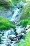Falls at a volcano foot Royalty Free Stock Photo