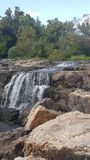The Falls waterfall at the Falls in joplin missouri Stock Photos