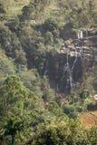 Falls on the way to Mount Ella Rock. Sri Lanka. Stock Photography
