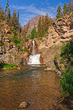 Falls in the Western Mountains Royalty Free Stock Image