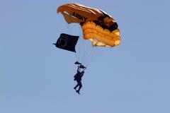 Fallschirm Stockfoto