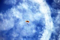 Fallschirm Lizenzfreie Stockfotos