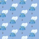 Fallschirme im Himmel Stockbild