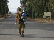 Fallschirmjäger IDF Stockbild