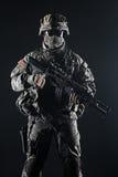 Fallschirmjäger Vereinigter Staaten Lizenzfreies Stockfoto