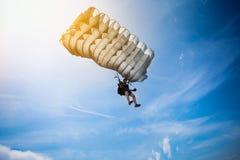 Fallschirmspringer Stockfotografie