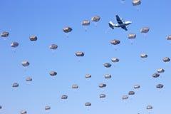 fallskärmsjägare Arkivfoto