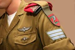 FallskärmsjägareIDF Royaltyfria Foton