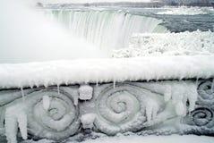 fallsniagara vinter Royaltyfri Bild