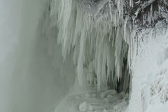 fallsniagara vinter Royaltyfri Fotografi