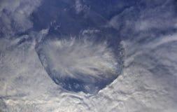 Fallstreak hål Arkivbilder