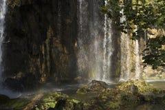 fallsvatten Arkivfoto