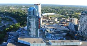 Fallsview赌博娱乐场在尼亚加拉瀑布,加拿大4K 影视素材