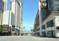 Fallsview boulevard  Niagara Falls Stock Photography