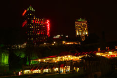Fallsview Casino. Night view. Niagara Falls, Canada Royalty Free Stock Photo