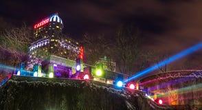 Fallsview kasinosemesterort i Niagara Falls, Kanada royaltyfri bild
