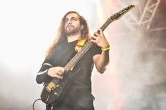 Fallujah Hellfest 2016 metal band Stock Images