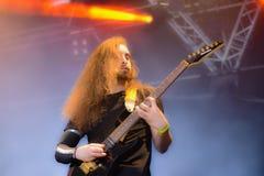 Fallujah Hellfest 2016 metal band Stock Image