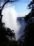 fallvattenzambia Arkivfoton