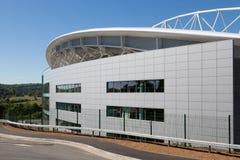 FALMER, SUSSEX/UK - 3 ΙΟΥΝΊΟΥ: Μπράιτον & ανυψωμένο ποδόσφαιρο Clu Albion στοκ εικόνα