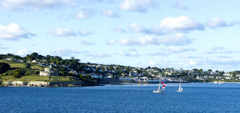 Falmouth. A very beautiful place in cornwall Royalty Free Stock Photography