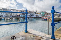 Falmouth in cornwall england uk Stock Image