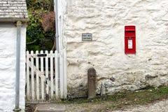 Falmouth Cornwall, UK - April 12 2018: En traditionell brittRo Arkivbild