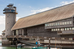 Falmouth Cornwall UK Iconic byggnad Royaltyfria Bilder