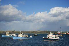Falmouth, Cornwall, UK Stock Photography