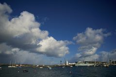 Falmouth, Cornwall, UK Royalty Free Stock Image