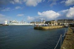 Falmouth, Cornwall, UK Royalty Free Stock Images