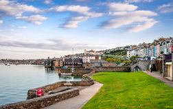 Falmouth, Cornwall stock afbeelding