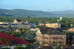 Falmouth CourtHouse And Church, Jamaica Royalty Free Stock Photos