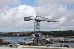 Falmouth Docks, UK. Stock Photos